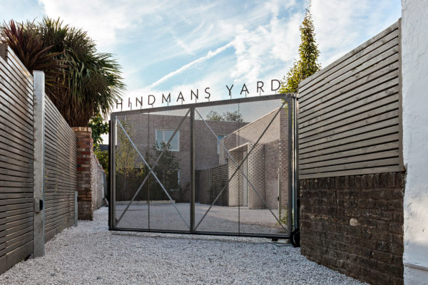 Hindhams Yard Dulwich image of a gate