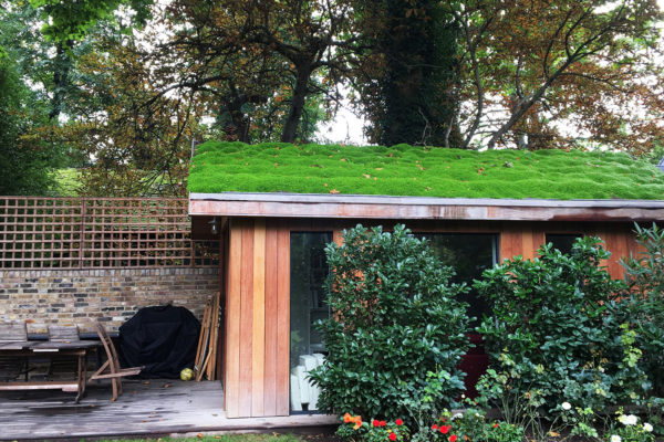 replacement pitched roof in Holland Park, London