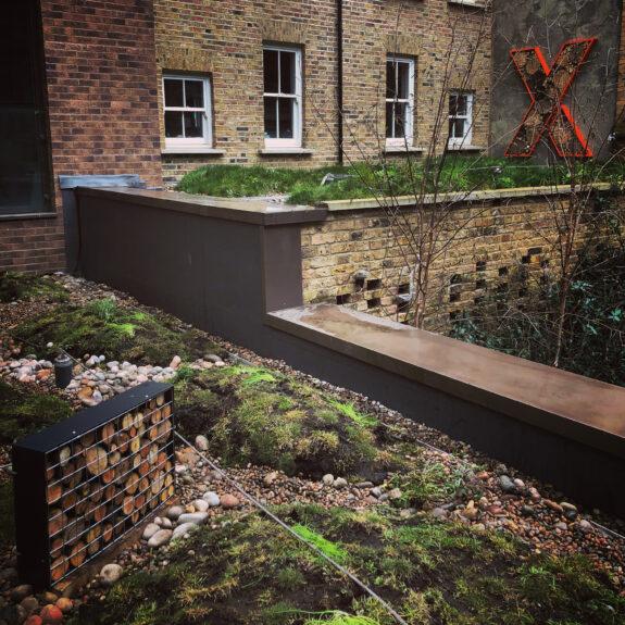 biophilic green roof